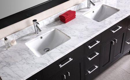 72 Vanity top Double Sink