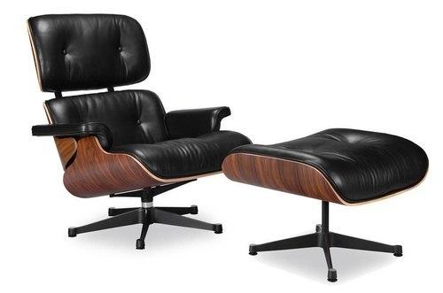 Eames Lounge Chair Vitra Black | Manhattan Home Design