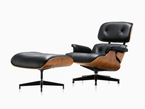 Relax and enjoy with modern eames lounge   chair and ottoman