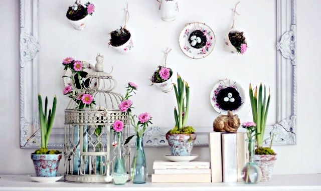 Easter decoration ideas for home – be   creative