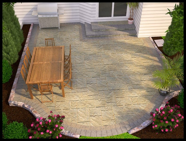 Cheap Easy Patio Ideas Design Ideas