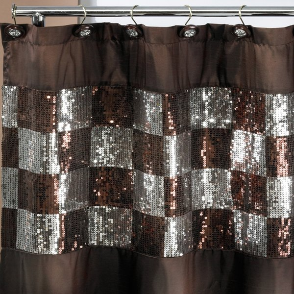Shop Elegant Shower Curtain and Hooks - On Sale - Free Shipping On