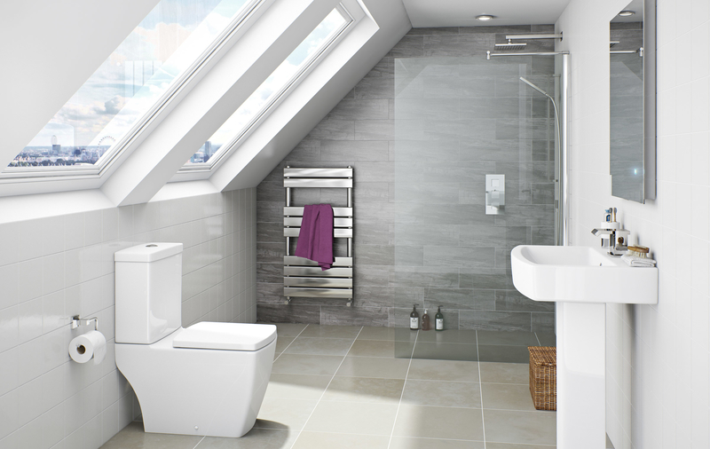 Wet room in a loft conversion
