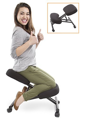 Traveller Location: ProErgo Ergonomic Kneeling Chair -Adjustable Height - Office  Seating with an Edge! Perfect for Relieving Back and Neck Pain & Improving  Posture