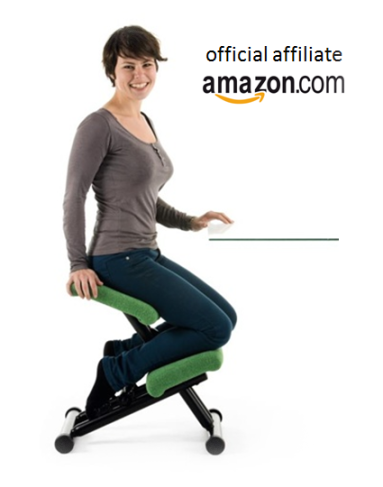 Kneeling Office Chairs | FREE Shipping on all #Ergonomic #KneeStools  Ergonomic #kneelingchairs were created to automatically maintain your spine  in an