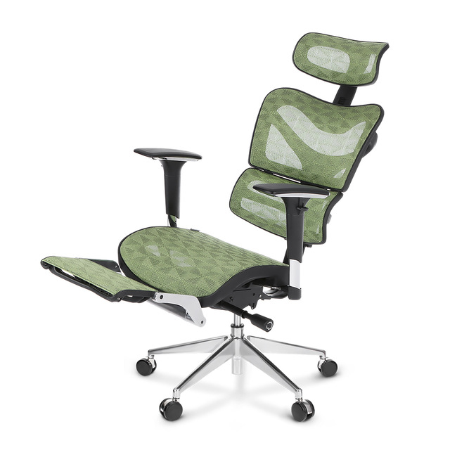 What is an ergonomic office chair with   footrest