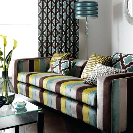Fabric Patterned Sofas Stylish And Collection Wide In Home Sofa Bed