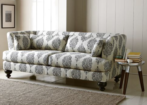 What is more comfortable than modern   fabric patterned sofas ?