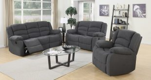 Shop Vali Contemporary 3-piece Fabric Reclining Sofa Set - Free Shipping  Today - Traveller Location - 10996730