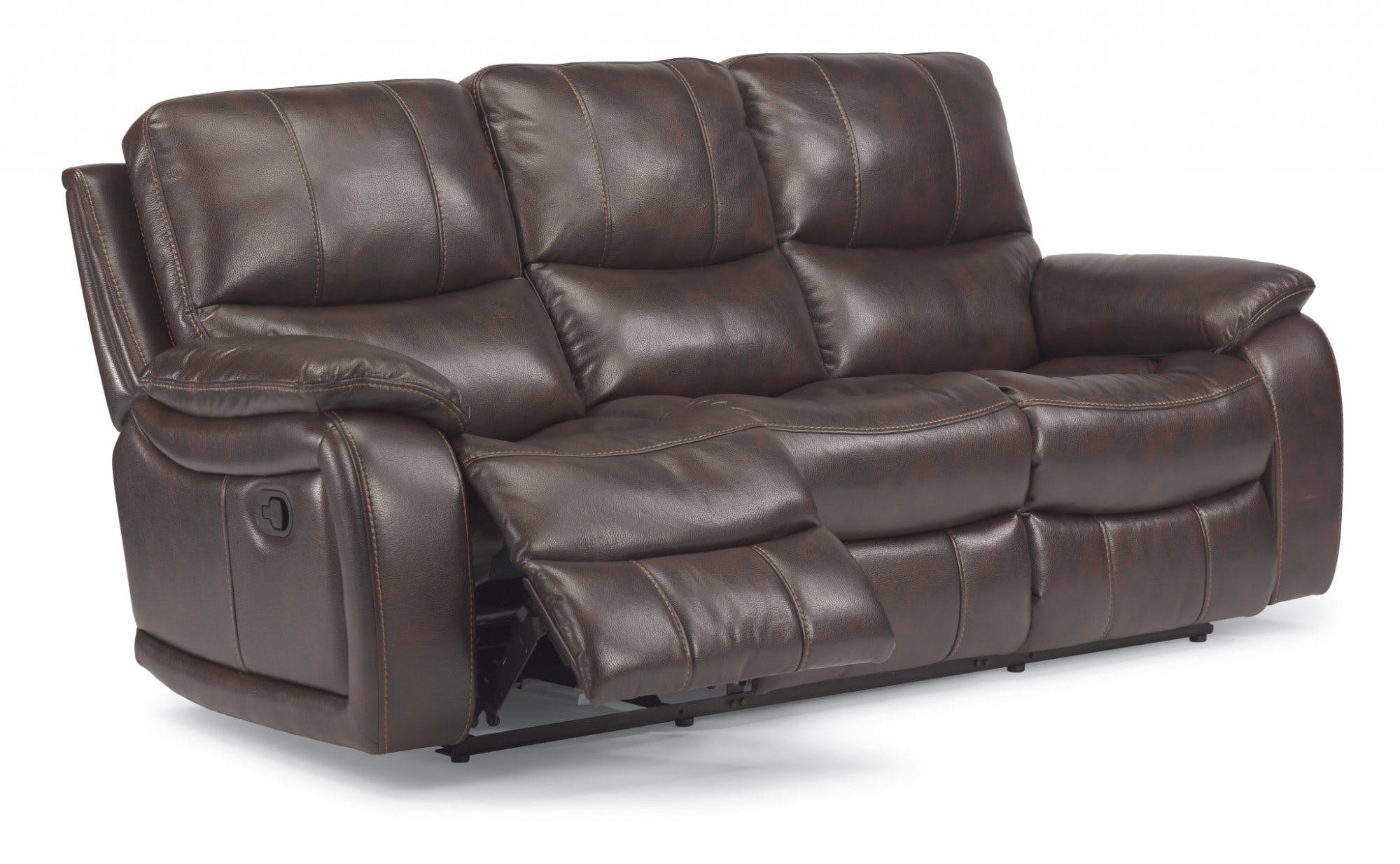 Flexsteel Fabric Reclining Sofa 1298-62