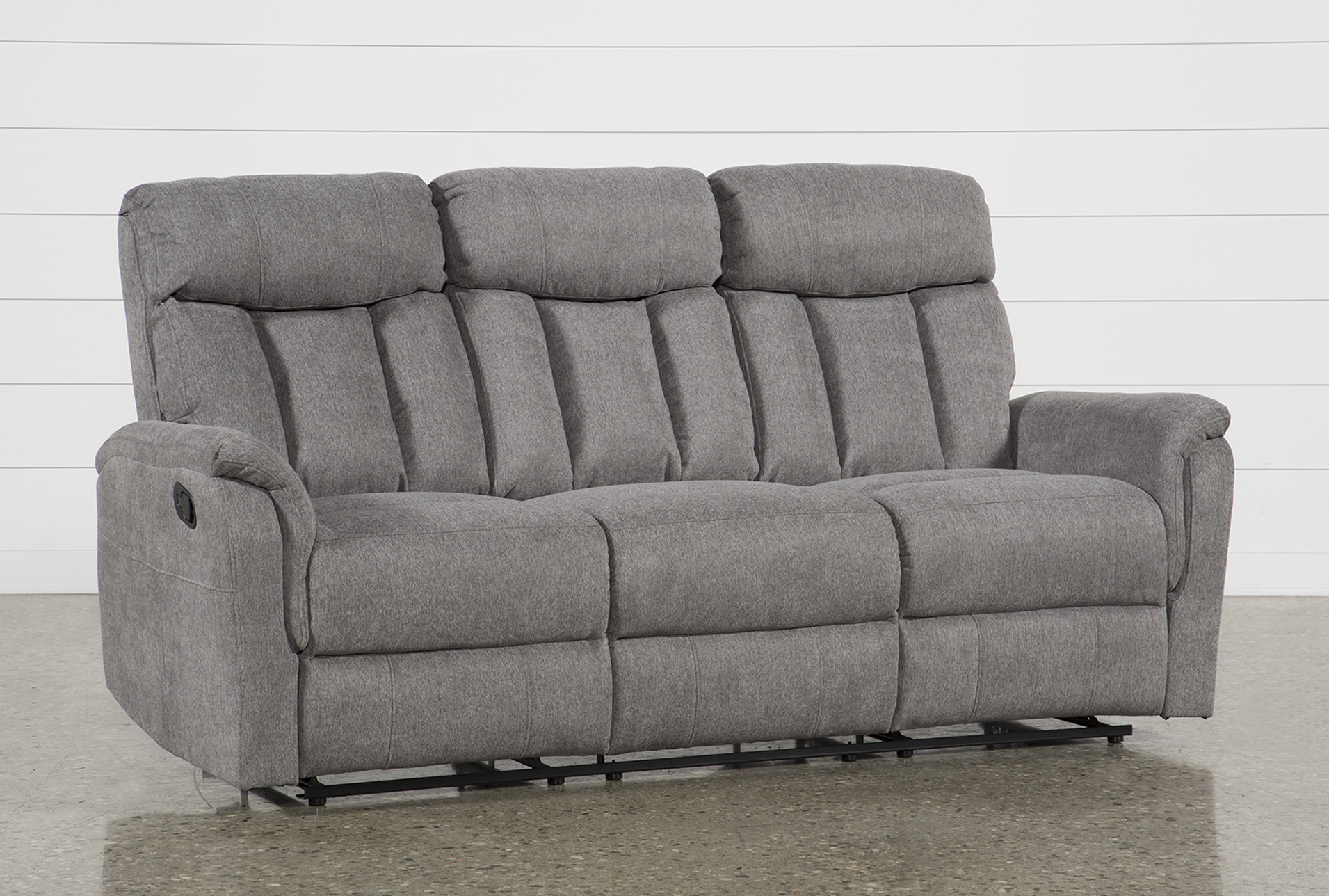 Suzy Dark Grey Reclining Sofa (Qty: 1) has been successfully added to your  Cart.