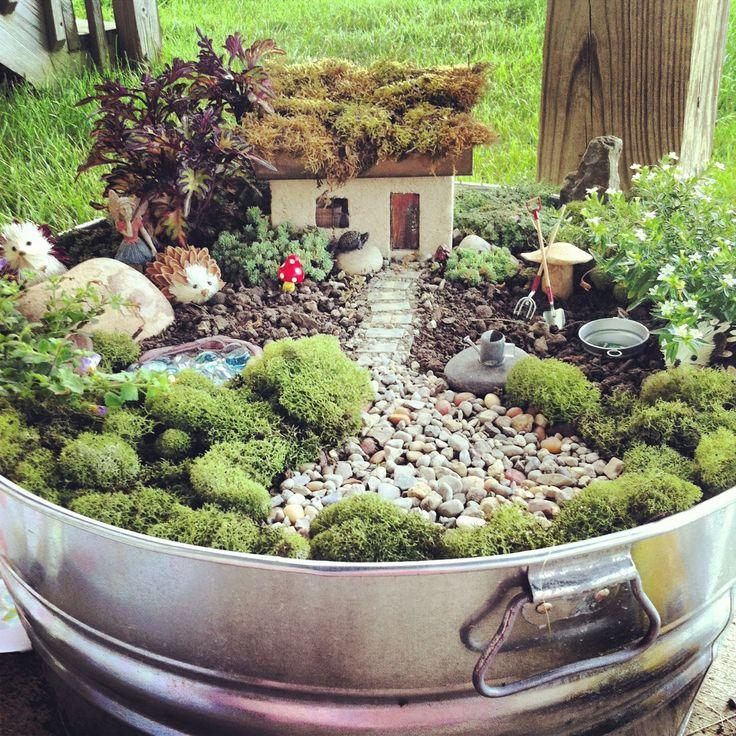 Ideas for making a fairy garden ideas   landscaping