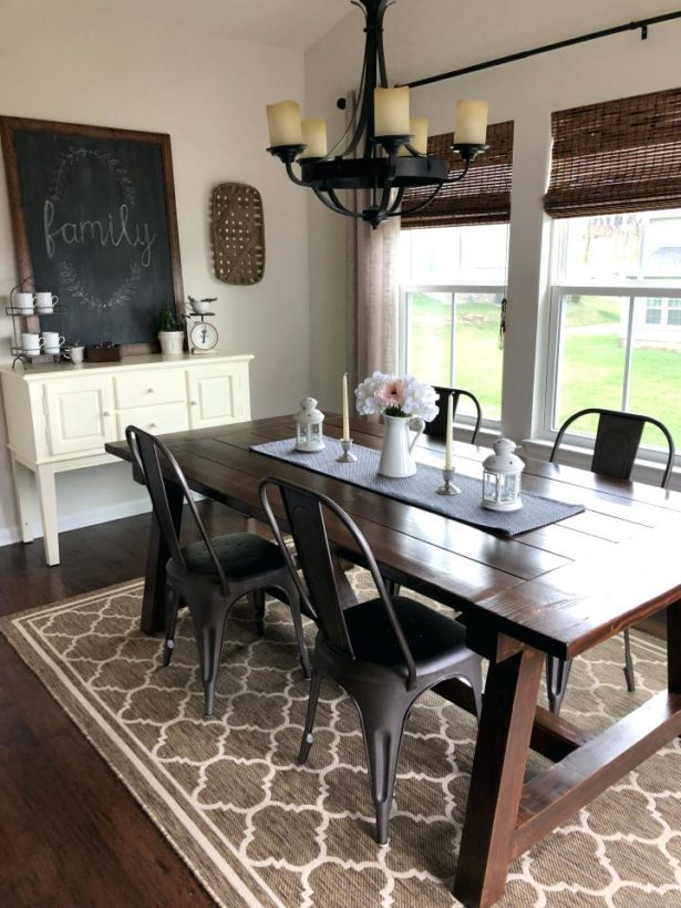 Medium Size of Dining Room Round Farmhouse Dining Set Tall Farmhouse  Table Farmhouse Style Table And