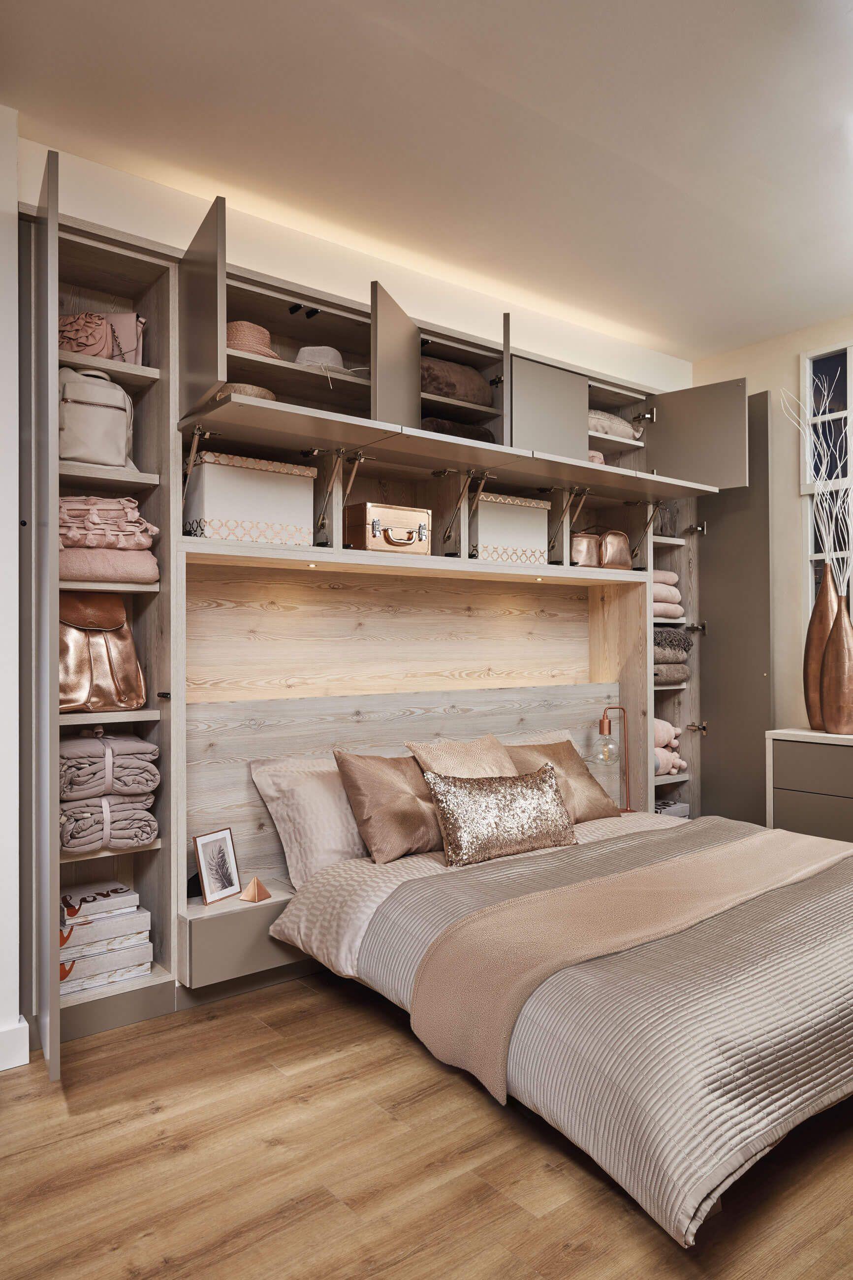 Resultado de imagen para wardrobe over bed