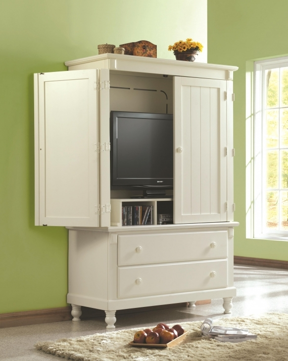 Most Inspiring Flat Screen Tv Armoire With Pocket Doors — Allin The Details  : Tips Flat