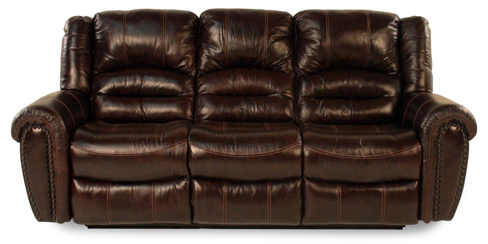 Flexsteel LancerLeather Reclining Sofa