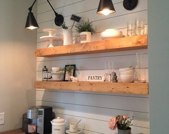 Floating Shelf, Farmhouse Shelves, Shelf, Nursery Shelf, Bathroom Shelf, Kitchen  Shelf, Rustic Shelf, Fixer Upper Shelves, Kitchen Shelving