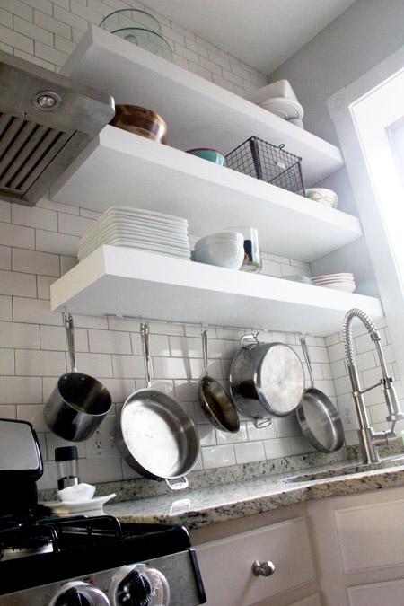 Bigger, Stronger, Kitchen Floating Shelves
