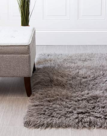 Amazon.com : Hand-Woven Soft Wool Flokati Shag Rug 3 Feet by 5 Feet