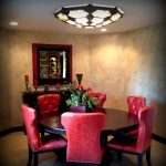 Something for your modern flush mount   dining room light fixtures
