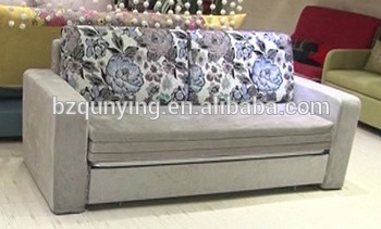 Full-size futon sofa bed steel frame
