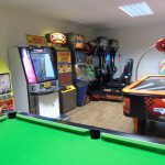 Decoration of best games room with   variety of things