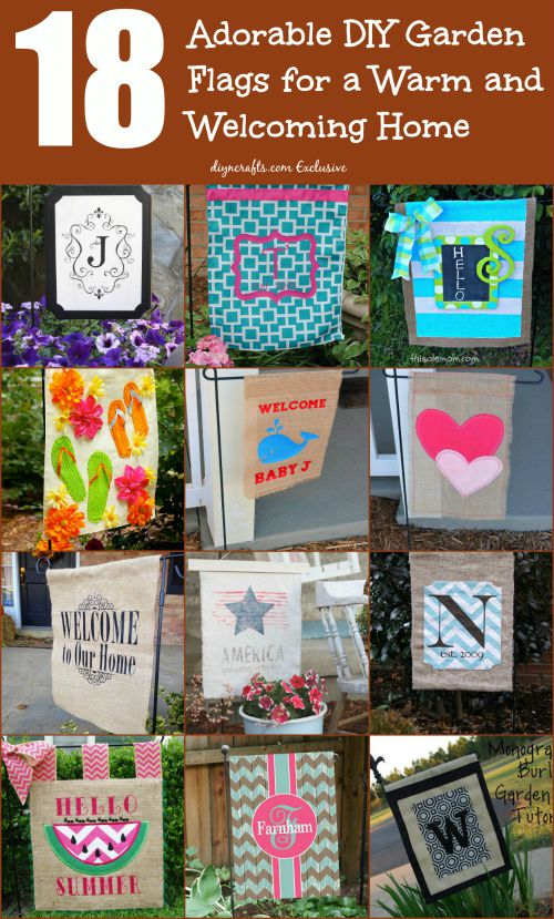 Garden flags ideas helping in decoration   of your yard