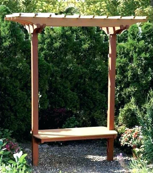 Arbor Bench Garden Arch With Seat Plans u2013 raquel-mac