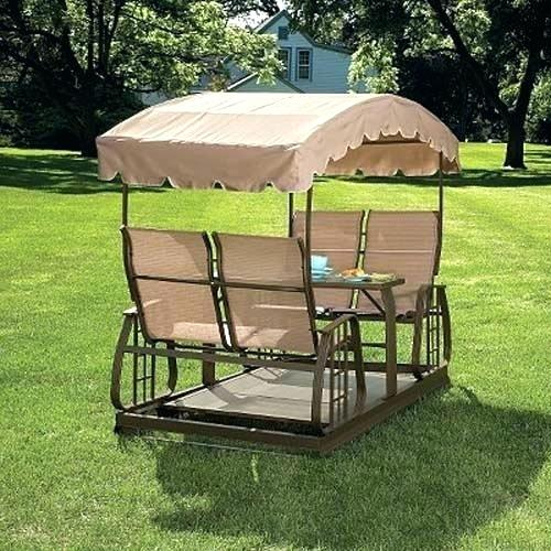 Best Patio Swing With Canopy Glider Garden Plans Outdoor Porch A