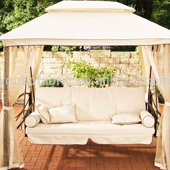 100% Polyester Fabric Canopy Replacement Outdoor Garden Swings With