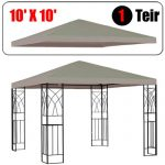 Install best gazebo replacement canopy ?