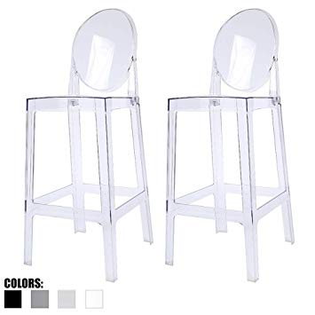 Amazon.com - 2xhome - Set of Two (2) - Clear - 30