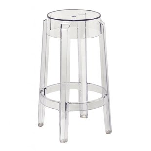 Modern & Contemporary Clear Acrylic Ghost Bar Stools | AllModern