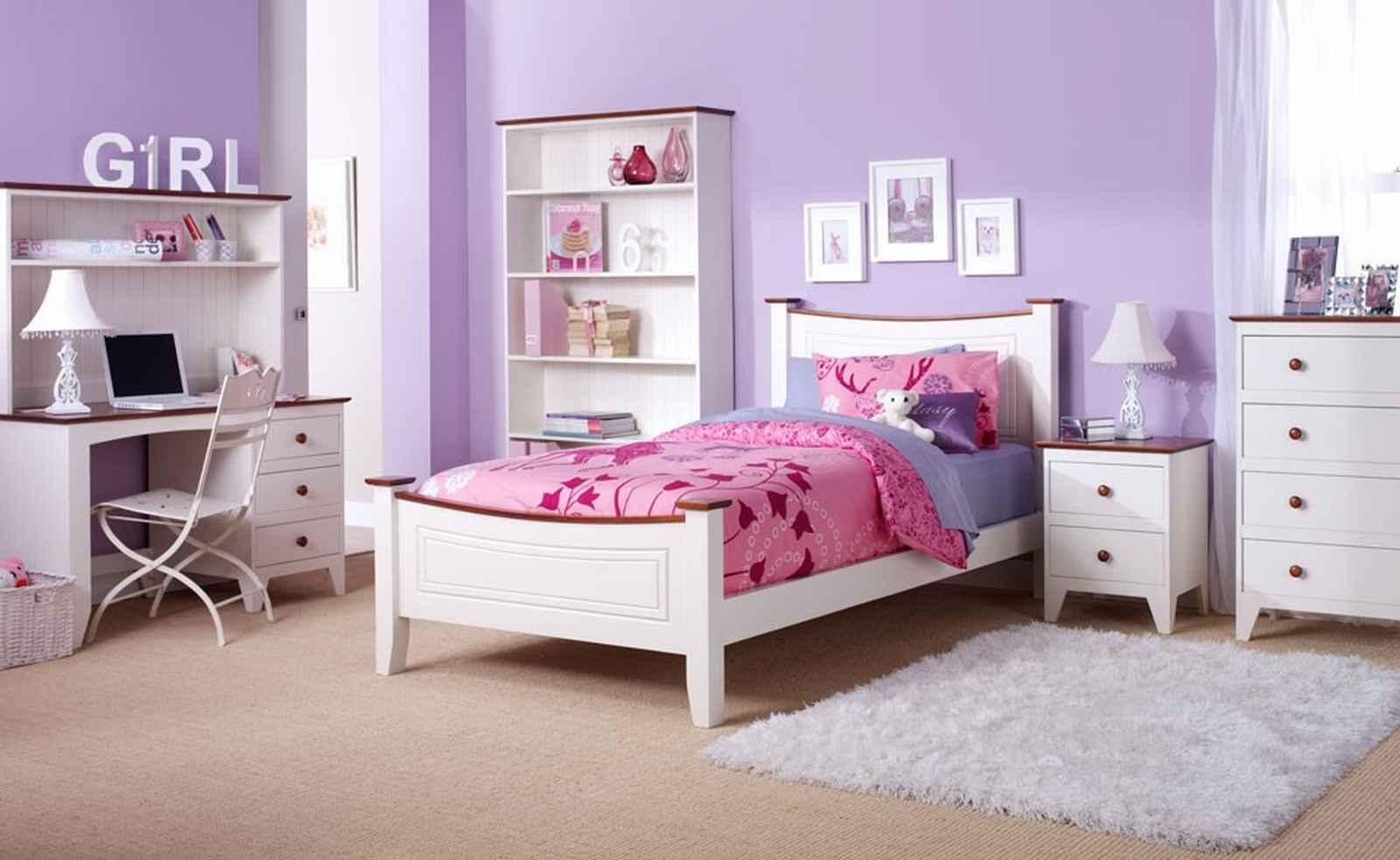 Minimalist Girls Bedroom Duvet Sets