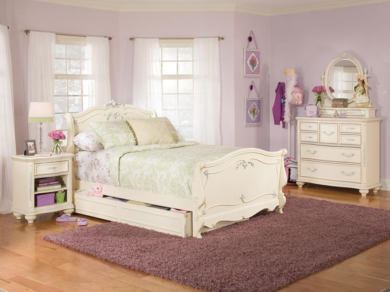 Girls Black Bedroom Set Kids Twin Bed Furniture Bedroom Sets For Teen Girls