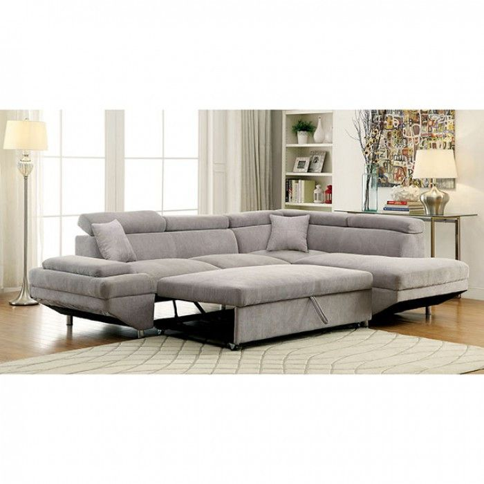 How to fit your grey sectional sleeper   sofa in your home
