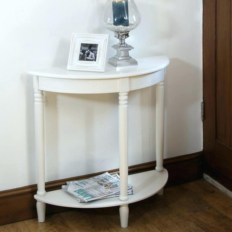 half moon side table small half moon console table sofa table design half  moon wonderful classic