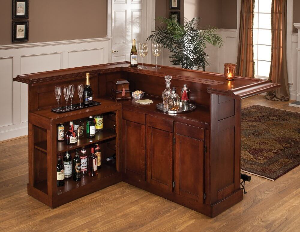 80 Beautiful Small Home Mini Bar Cabinets, Sets & Wine Bars (2019)