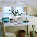 Make a beautiful home office ideas on a   budget