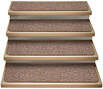 Use indoor carpet stair treads to secure   your family