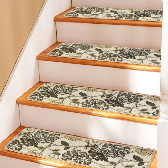 Soloom Carpet Stair Treads Non Slip Set of 13 Indoor Skid Resistant Stair  Treads