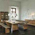 Modern interior wooden furniture