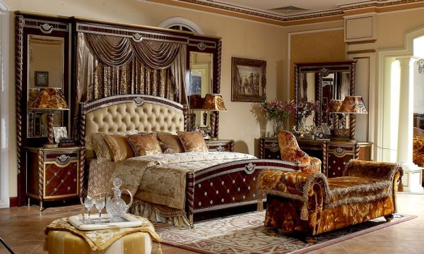 Italian Furniture - Italian Bedroom Furniture Sets Armoire Dresser