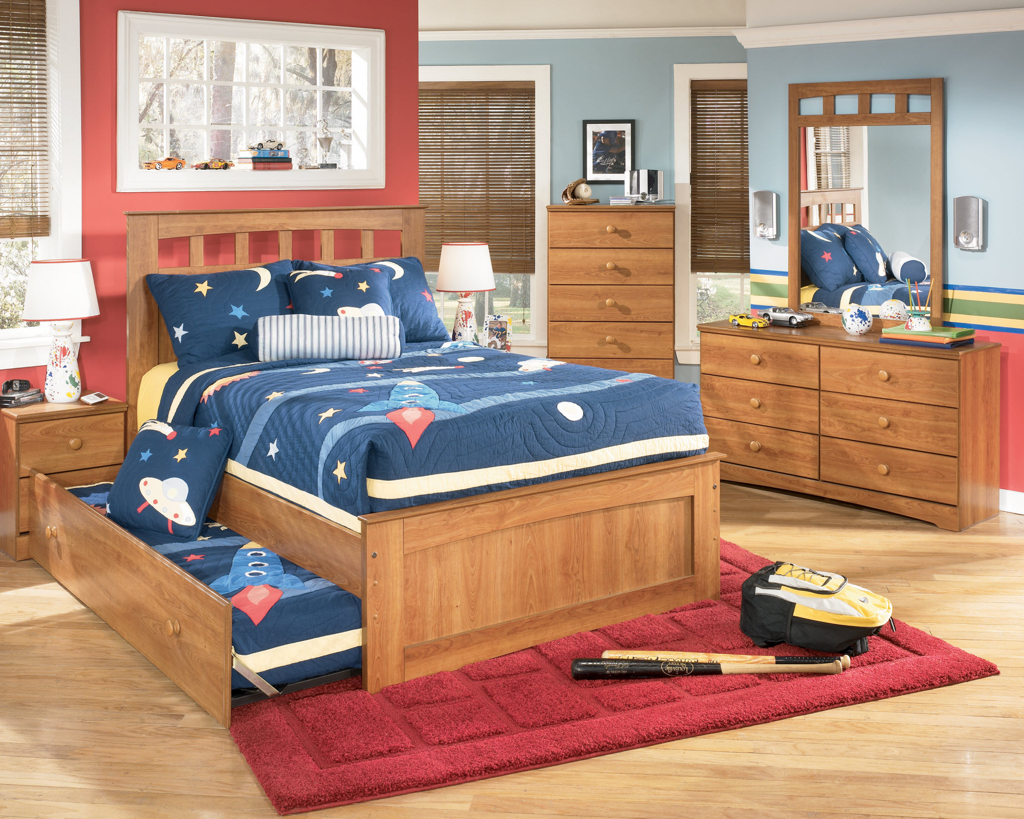 Childrens Bed With Drawers Underneath Kids Single Bed Frame Little Girl Bedroom  Furniture Sets Youth Bedroom Furniture Sets