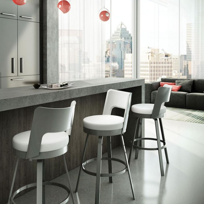 Wonderful Counter Height Kitchen Stools Kitchen Elegant Counter Height  Backless Swivel Stools With