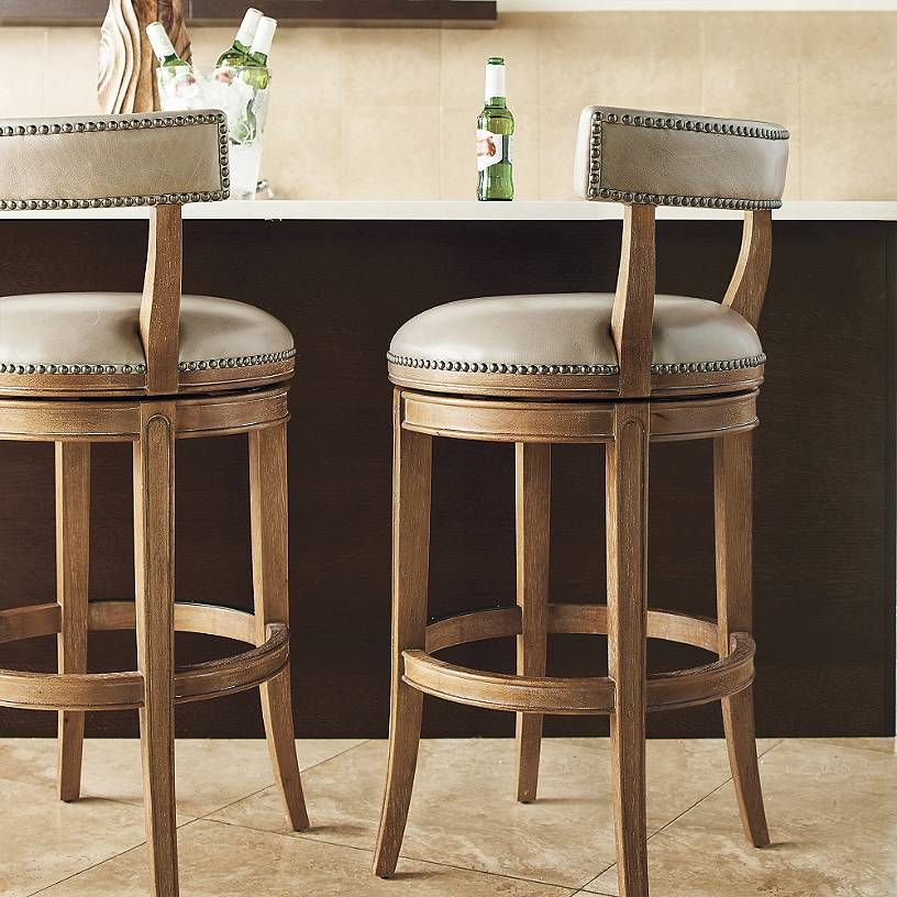 Henning Low Back Bar & Counter Stools