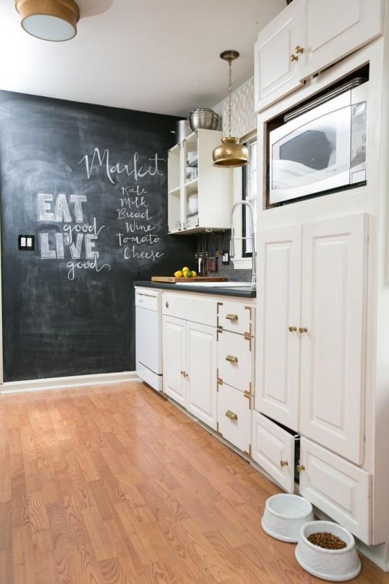 Creative Chalkboard Ideas For Kitchen Decor