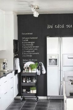 Chalkboard Decor Ideas For Your Kitchen