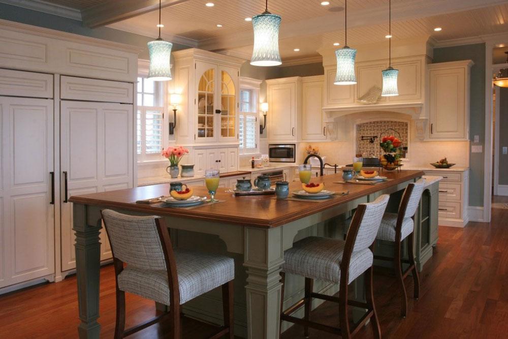 Modern-Kitchen-Island-Designs-With-Seating-11 Modern Kitchen Island