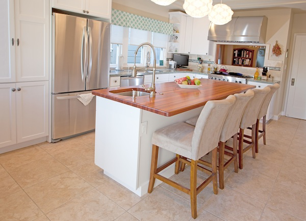 Multi-purpose Kitchen Island Sink & Seating
